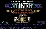 Continental Circus Commodore 64 Loading screen