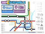 Subway Scramble Windows Main menu.