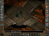 Baldur's Gate II: Throne of Bhaal Windows Monsters are tougher too.  Six Drow and two Umber Hulks make for one of the easier battles you have in store.
