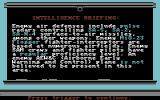 F-19 Stealth Fighter Commodore 64 Intelligence briefing