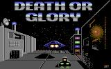 Death or Glory Commodore 64 Title screen