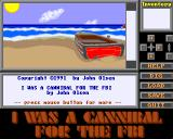 I was a Cannibal for the FBI Amiga Game start