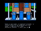 The Adventures of Buckaroo Banzai: Across the Eighth Dimension Apple II At a gas station