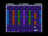 """Arkanoid Apple II The """"P"""" is an extra life."""