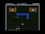Arkanoid Apple II Gold bricks can't be destroyed making some levels more challenging.