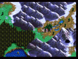 Lunar: Silver Star Story Complete PlayStation World Map