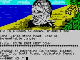 Savage Island ZX Spectrum Starting on the beach