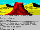 Savage Island ZX Spectrum I see a volcano