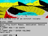 Savage Island ZX Spectrum On the volcano's rim
