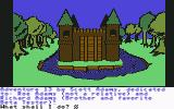 Sorcerer of Claymorgue Castle Commodore 64 Starting at the castle