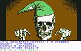 Sorcerer of Claymorgue Castle Commodore 64 I tried swimming the moat and drowned.