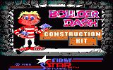 Boulder Dash Construction Kit Amstrad CPC Title screen