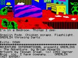 Gremlins: The Adventure ZX Spectrum Game start
