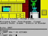 Gremlins: The Adventure ZX Spectrum A high-tech kitchen