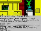 Gremlins: The Adventure ZX Spectrum Notice that it's fried