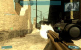 Tom Clancy's Ghost Recon: Advanced Warfighter Windows Gunfight.