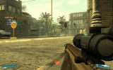 Tom Clancy's Ghost Recon: Advanced Warfighter Windows Urban fights will require you to take cover whenever possible.