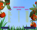 Tumblebugs Windows High score screen