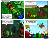 Tumblebugs Windows The game story is told through a comic.