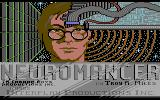 Neuromancer Commodore 64 Title screen