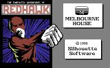 Redhawk Commodore 64 Title screen