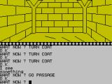 Arrow of Death Part I ZX Spectrum The passageway holds a secret