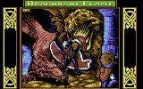 Dragons of Flame Commodore 64 Title screen
