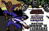 The Amazing Spider-Man and Captain America in Dr. Doom's Revenge! Commodore 64 Title screen