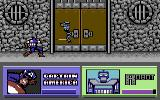 The Amazing Spider-Man and Captain America in Dr. Doom's Revenge! Commodore 64 Captain America fights a robot.