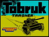 Tobruk: The Clash of Armour ZX Spectrum Tank trainer loading screen