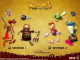 Rayman 10th Anniversary Collection Windows Rayman 3 Woodlum Havoc Print Studio: Stickers