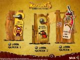 Rayman 10th Anniversary Collection Windows Rayman 3 Woodlum Havoc Print Studio: Doorhangers