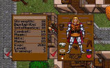 Ultima VII: The Black Gate DOS Stat Screen