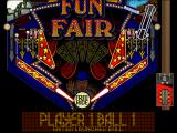 hyper 3-D Pinball DOS Funfair bottom - 2D plain view