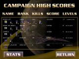 Star Rangers DOS Campaign high scores