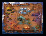 Pirates: The Legend of Black Kat PlayStation 2 Map of the Pirates.
