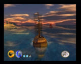Pirates: The Legend of Black Kat PlayStation 2 Sometimes, enemy ships will try to escape, and you'll have to use a special wind ability to get closer.