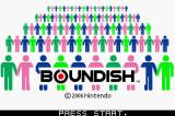 Boundish Game Boy Advance Title Screen