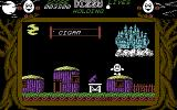Dizzy: The Ultimate Cartoon Adventure Commodore 64 You'll need the grease gun to move a mine cart from a cave entrance