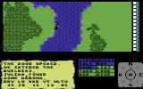 The Faery Tale Adventure: Book I Commodore 64 Wading through a river