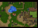 Lunar 2: Eternal Blue Complete PlayStation Visiting a town