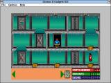 Super Solvers: Gizmos & Gadgets! Windows 3.x Room with parts
