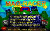 Mag Racer DOS Title screen.