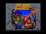 Heavy Barrel Apple II Title screen