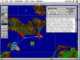A-10 Attack! Macintosh Mission map screen.