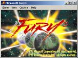 Fury³ Windows Title screen