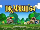 Dr. Mario 64 Nintendo 64 Title screen