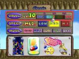 Dr. Mario 64 Nintendo 64 Classic mode options