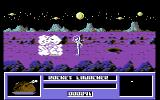Star Paws Commodore 64 Killing a Griffin with a rocket launcher