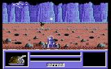 Star Paws Commodore 64 Shooting at a Griffin after using the matter transporter